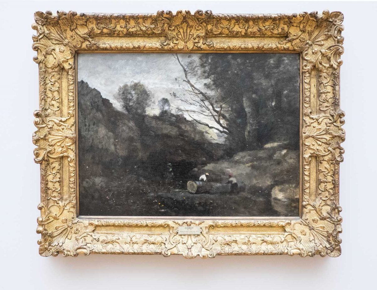 Camille-Corot-Holzfäller-in-einem-Waldtal-Leipzig