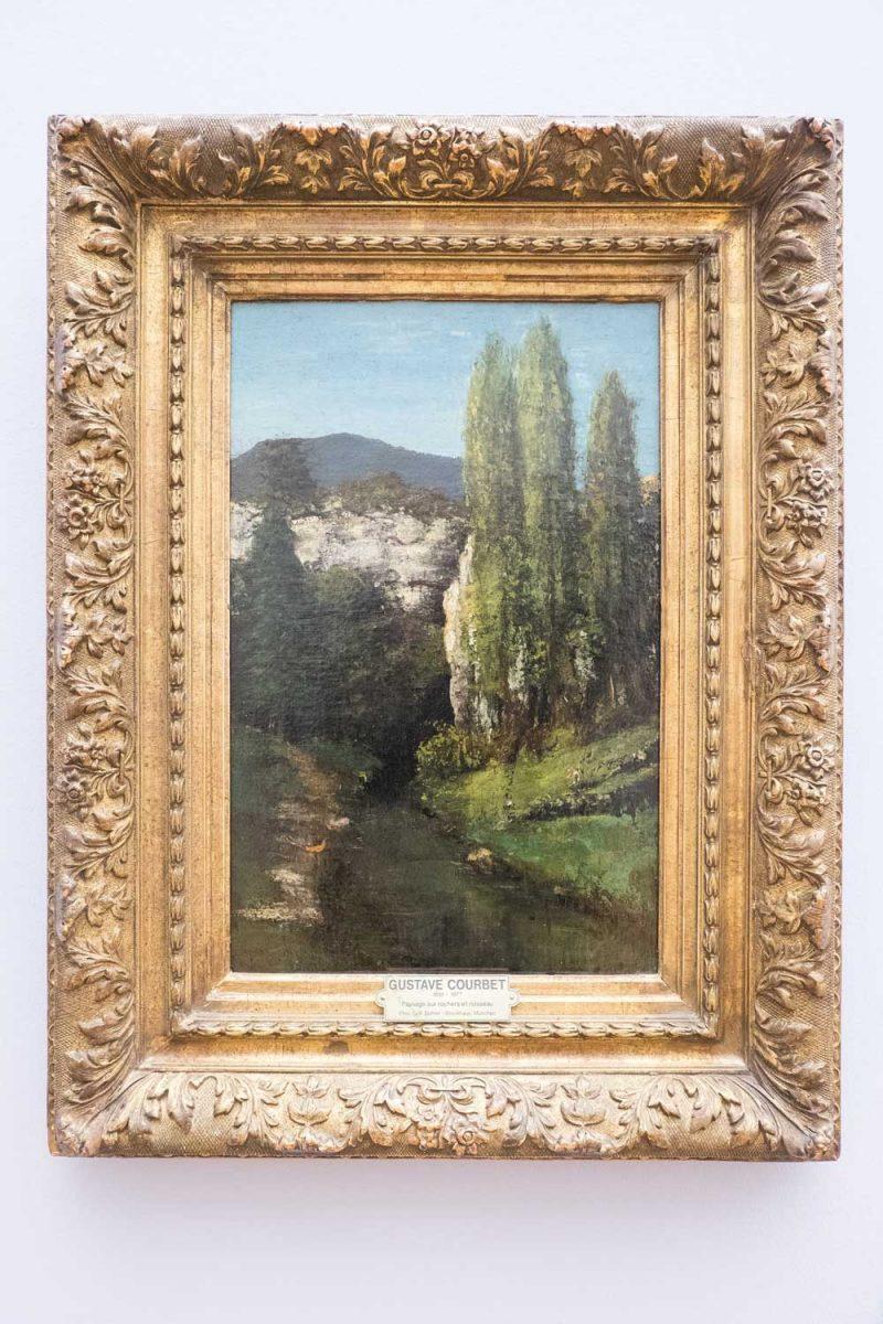 Gustave-Courbet-Die-Loue-im-Juragestein-Leipzig