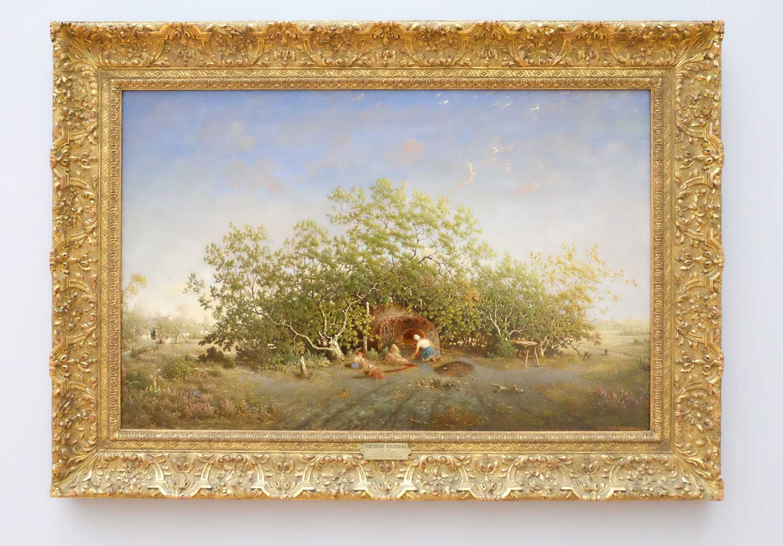 Theodore-Rousseau-1812-1867-Der-Dorfbackofen