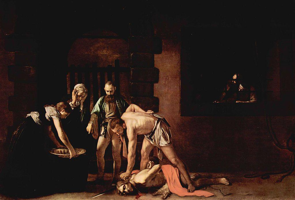 Michelangelo Caravaggio Die Enthauptung Johannes des Täufers