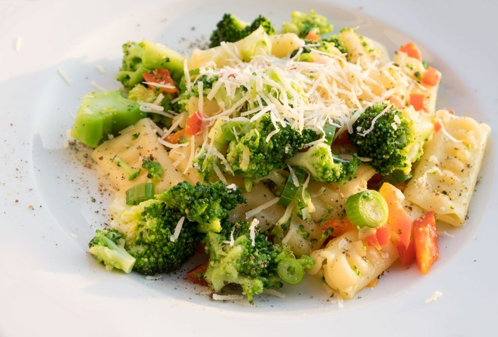 Einfache Pasta mit Brokkoli