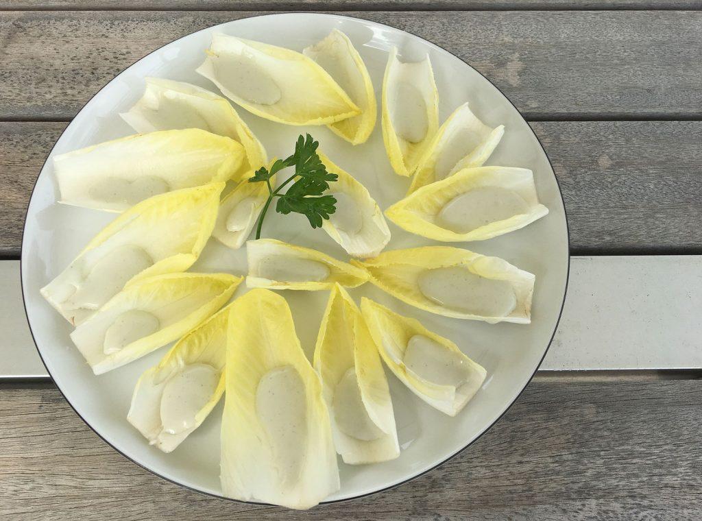 Chicorée mit Roquefort