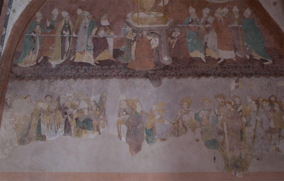 Das Freskenwunder von Loffenau großes Bild