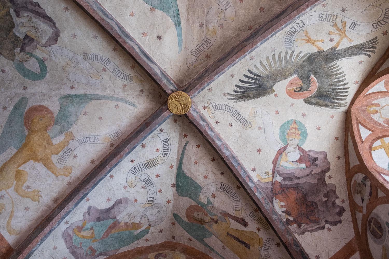 Das Freskenwunder von Loffenau Kreuzgewölbe