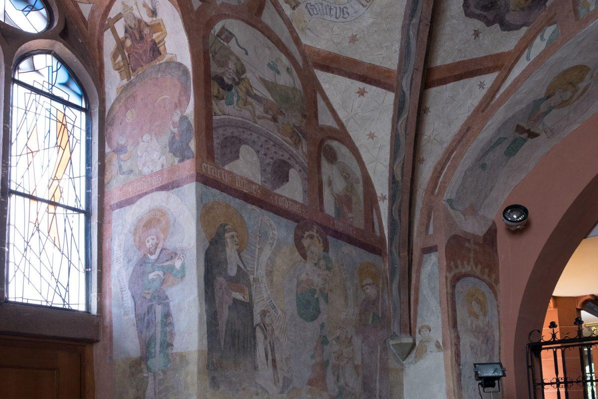 Loffenauer Fresken Heilig Kreuz Kirche