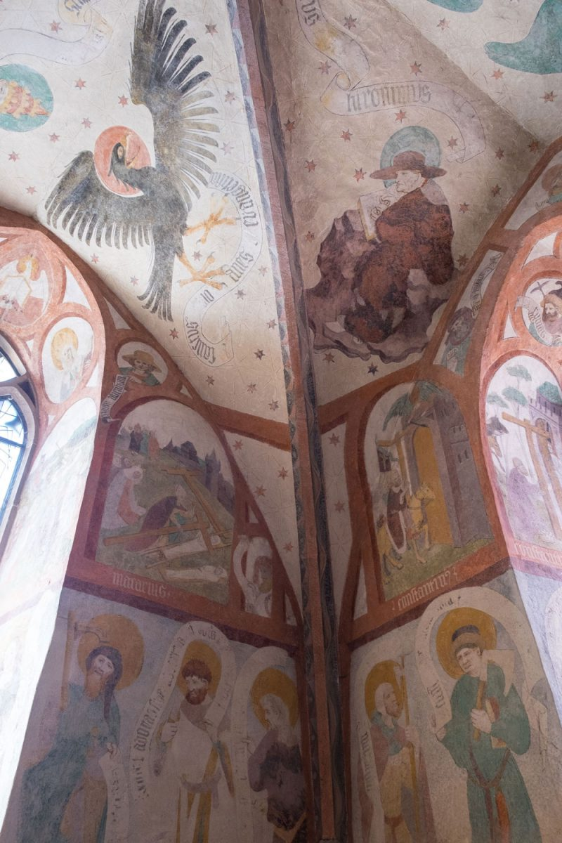 Loffenauer Fresken Nordschwarzwald im Dorf Loffenau