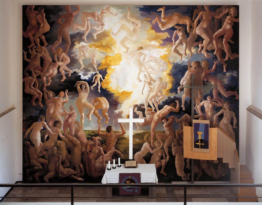 Auferstehung Altarbild Onolzheim