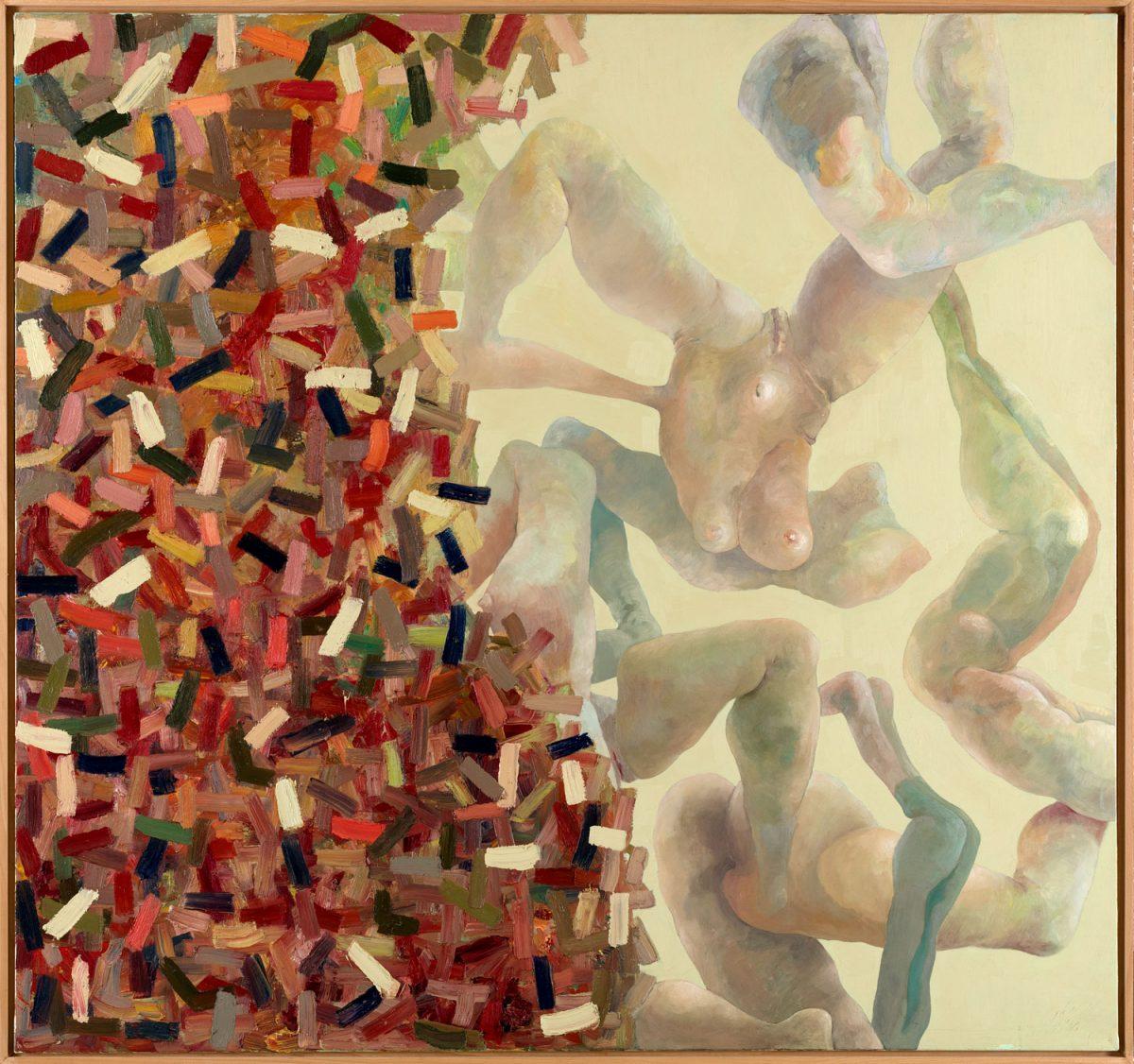 Definierter Raum 1995-96 Öl auf Leinwand 160 x 170 cm