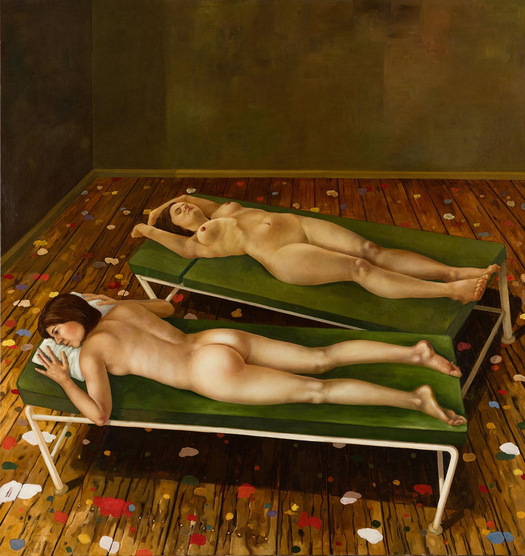 Studio 2008 Öl auf Leinwand 190 x 180 cm