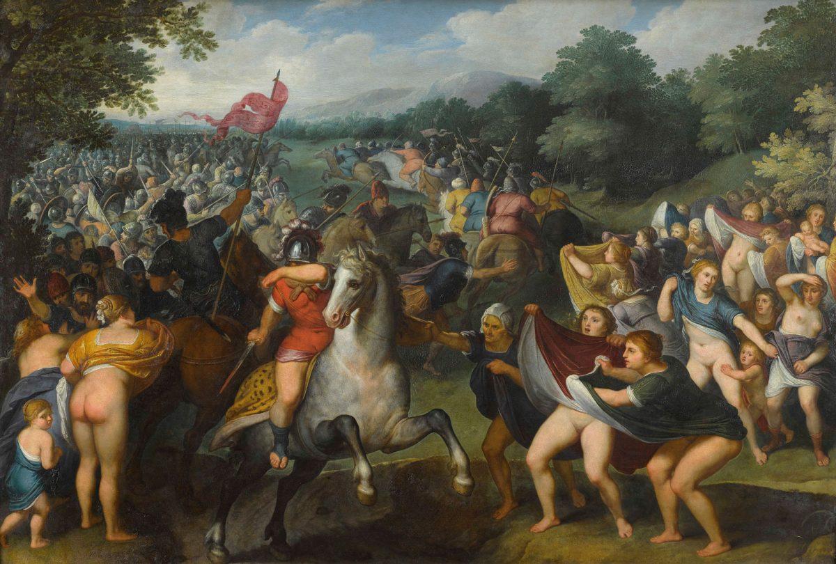 Otto van Veen   Die-Perserinnen   ca. 1629