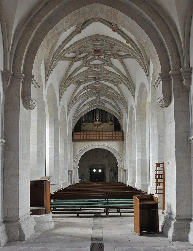 Marienkirche Langhaus nach Westen