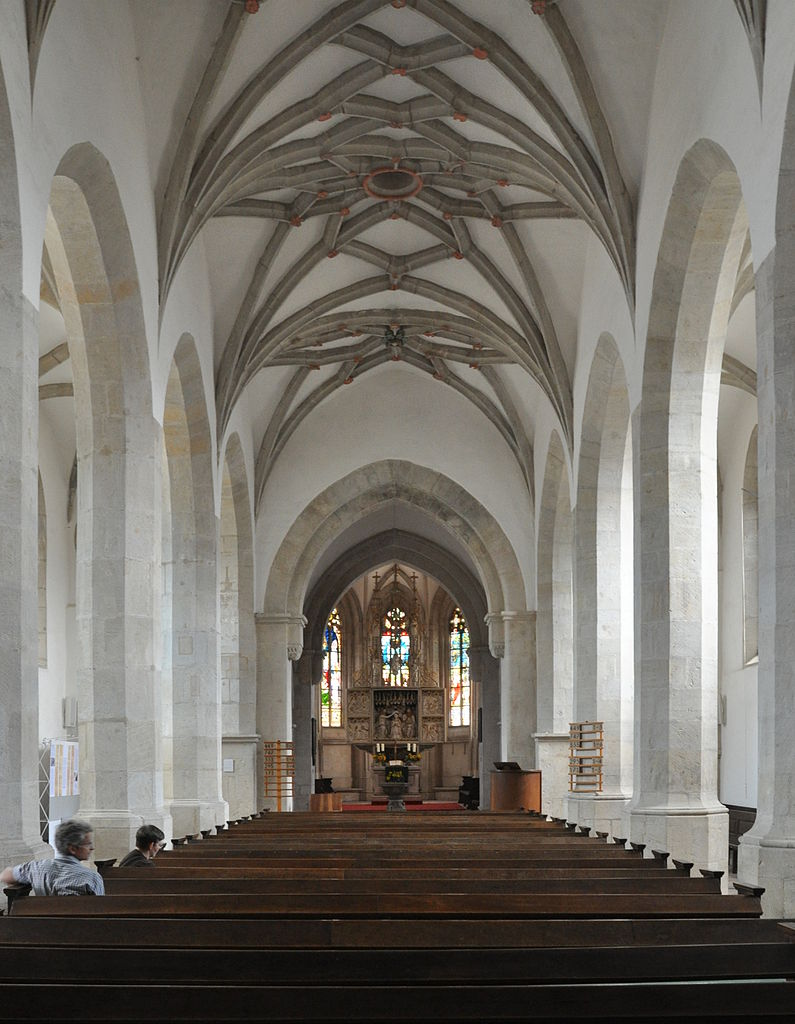 Marienkirche Langhaus nach Osten