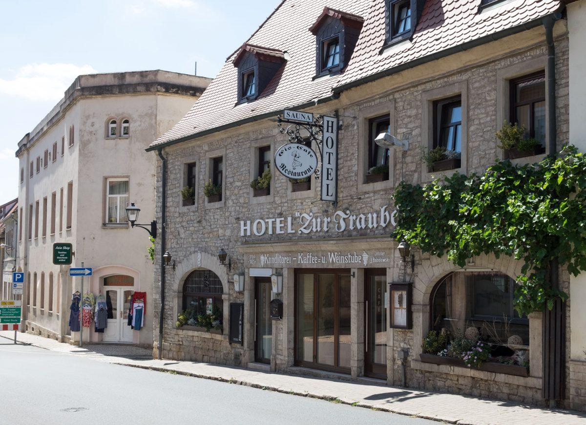 Das Hotel zur Traube Freyburg