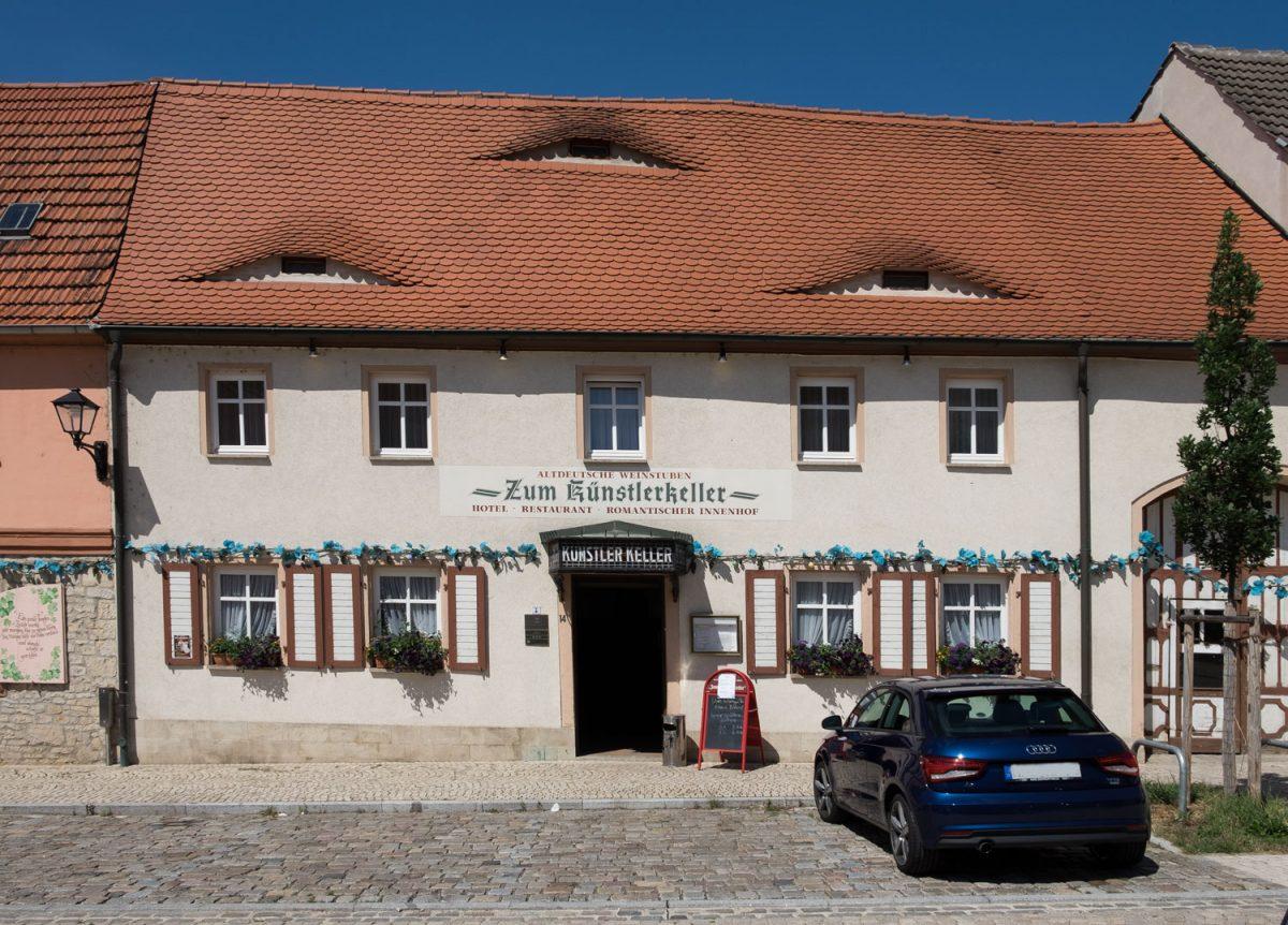 Gebäude Künstlerkeller Freyburg