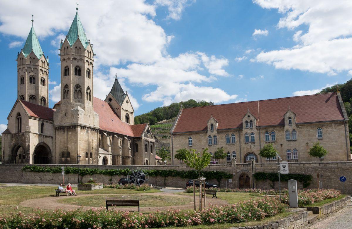 Die Marienkirche in Freyburg an der Unstrut
