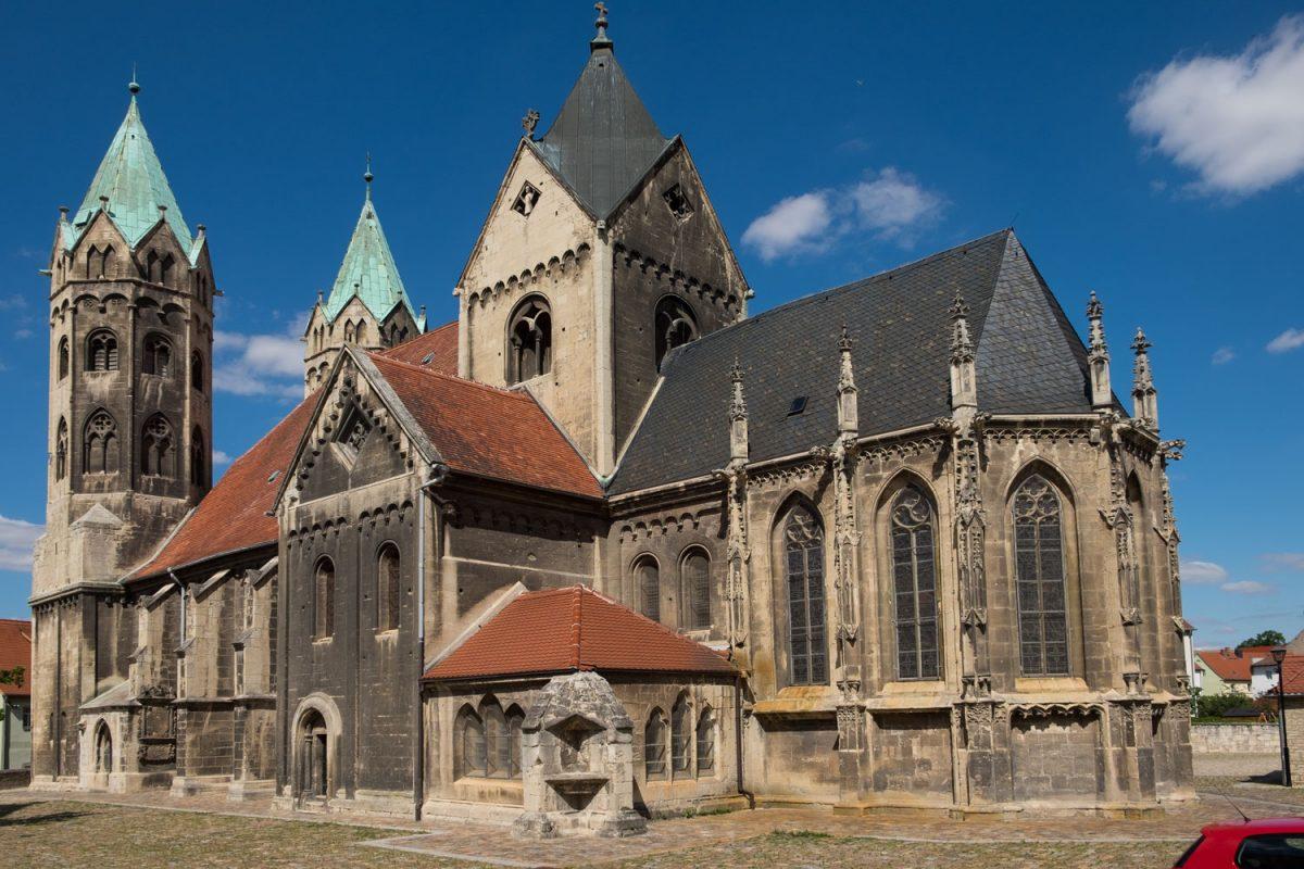 Die Marienkirche Freyburg Ansicht vom Chor
