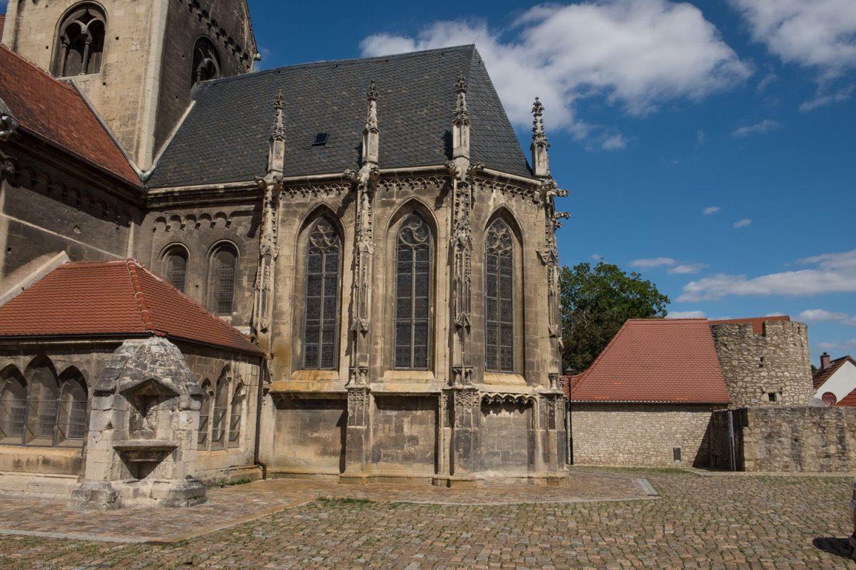 Marienkirche Freyburg Choransicht