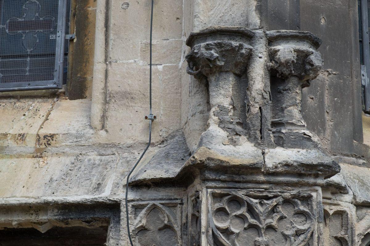 Teile der Marienkirche Freyburg